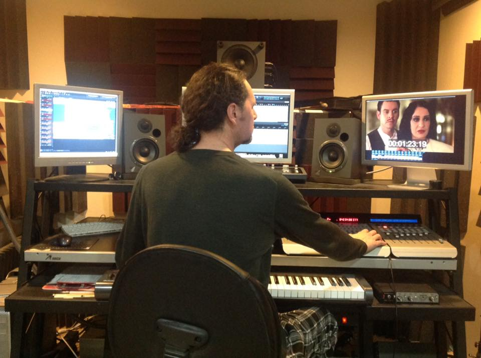 Randin Graves Composer at Work