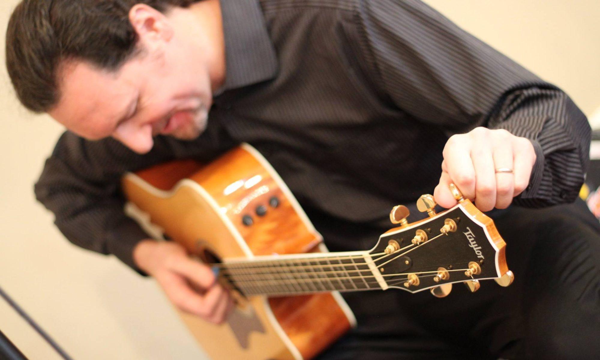 Randin Graves Taylor Guitar Player