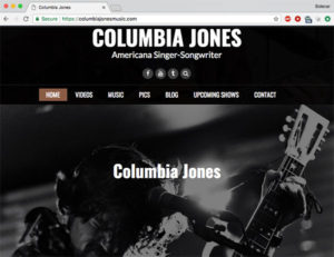 Columbia Jones Music