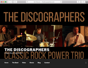 The Discographers - Classic Rock Power Trio